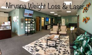 Nirvana Weight Loss & Laser Waiting Room