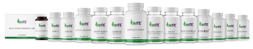 Full selection of BioTE Nutraceuticals!